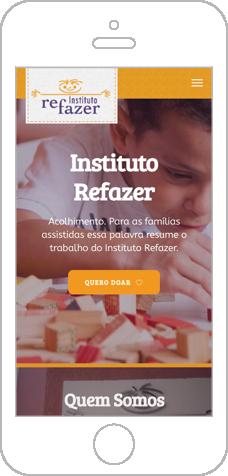 Instituto Refazer por Venda Consultoria de Design e Marketing para Instituições e Terceiro Setor