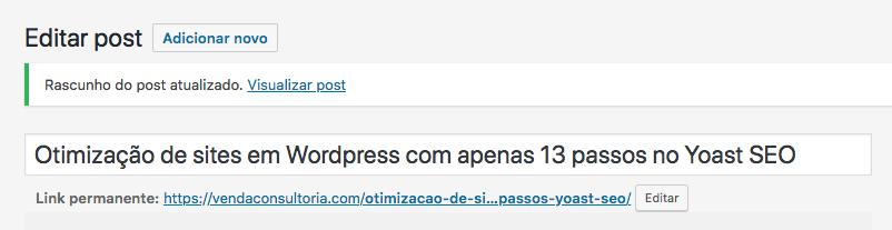 Link Permanente e a otimização de sites