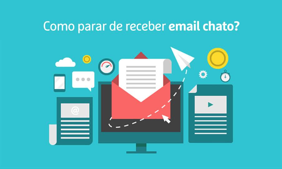 Como parar de receber email chato no Gmail