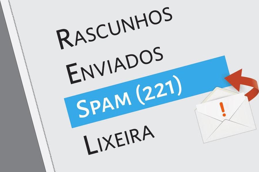 como parar de receber emails indesejados?