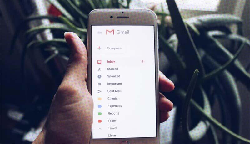 Organizando a caixa de entrada Gmail para ter mais eficiência no trabalho